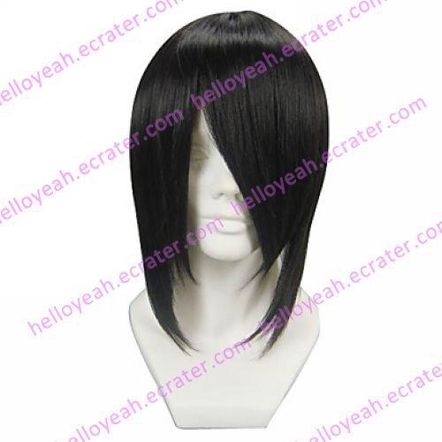 Cosplay Wig Inspired by Black Butler Sebastian Michaelis
