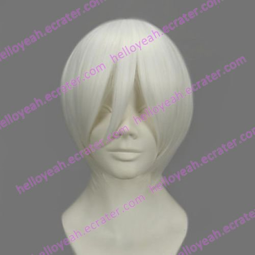 Cosplay Wig Inspired by Bleach 3rd Division Captain Gin Ichimaru