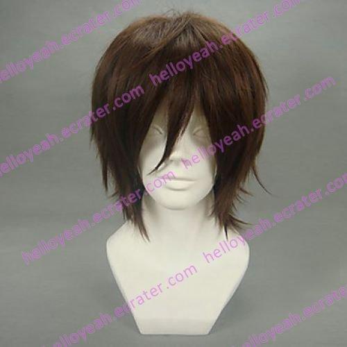 Cosplay Wig Inspired by Code Geass-Kururugi Suzaku