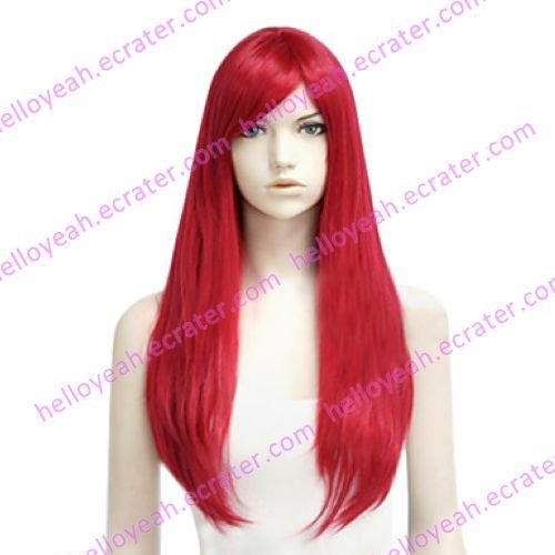 Cosplay Wig Inspired by Fairy Tail Elza Scarlet
