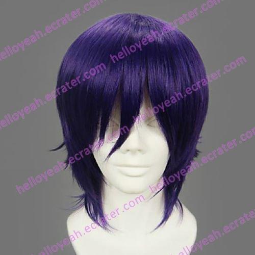 Cosplay Wig Inspired by Gintama Takasugi Shinsuke
