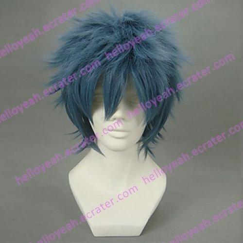 Cosplay Wig Inspired by Gintama-Peace Maker Bansai Kawakami