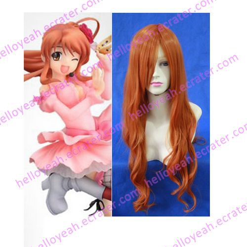 The Vocal Concert Of Haruhi Suzumiya Mikuru Asahina Cosplay wig