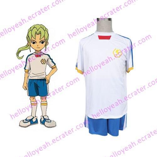 Inazuma Eleven Inazuma Japan Summer Soccer Uniform Cosplay wig