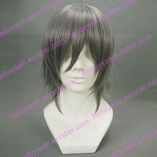 Cosplay Wig Inspired by Reborn! Hayato Gokudera