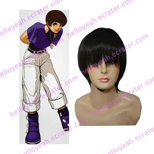 King of Fighter 97 Chris Cosplay wig