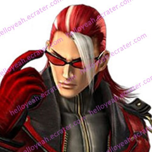 The King of Fighters Alba Meira Halloween Cosplay wig