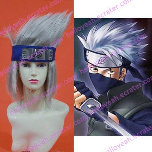 Cosplay wigs - Hatake Kakashi wigs from Naruto