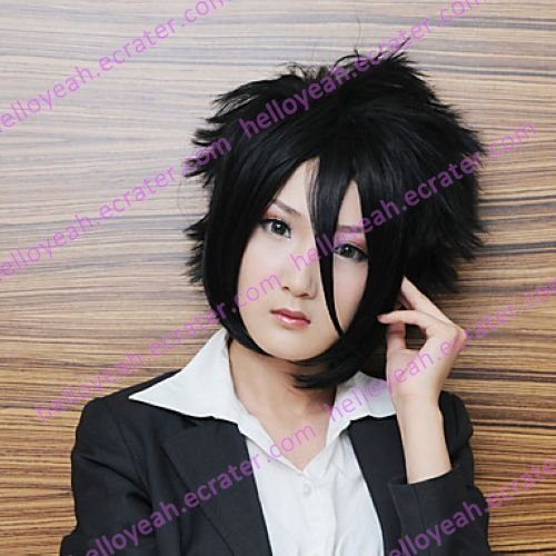 Cosplay Wig Inspired by Bleath 11th Division Captain Zaraki Kenpachi