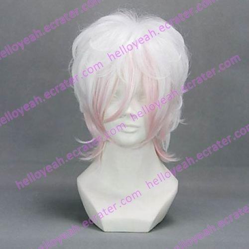 Cosplay Wig Inspired by Diabolik Lover Sakamaki Subaru Silver Gradient
