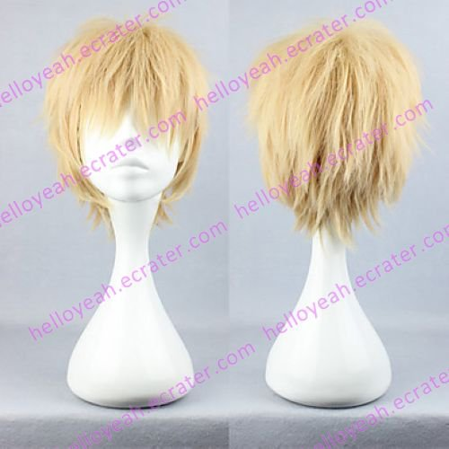 Cosplay Wig Inspired by Dramatical Murder Noiz Flaxen