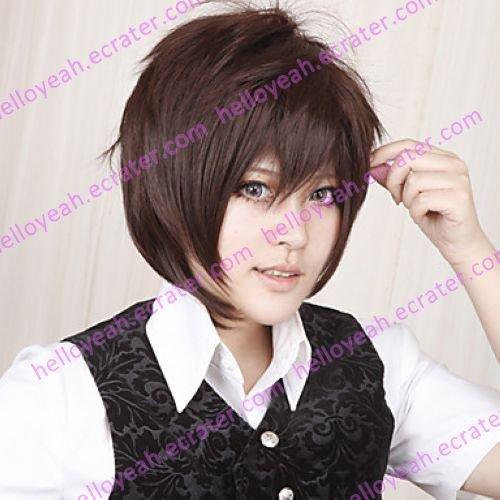 Cosplay Wig Inspired by Hakuoki Souji Okita