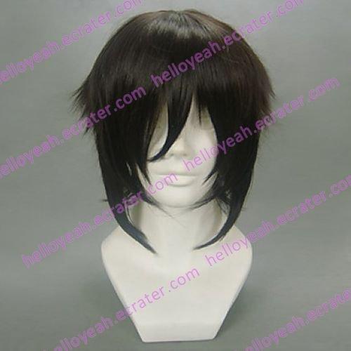 Cosplay Wig Inspired by Hakuoki-Peace Maker Yofuku Hijikata Toshizo