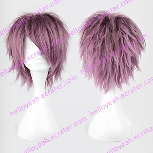 Cosplay Wig Inspired by IB Garry Mixed Purple