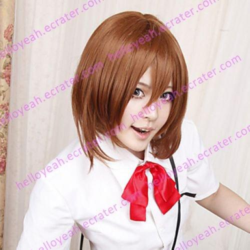 Cosplay Wig Inspired by K-on Hirasawa Yui School Uniform VER.