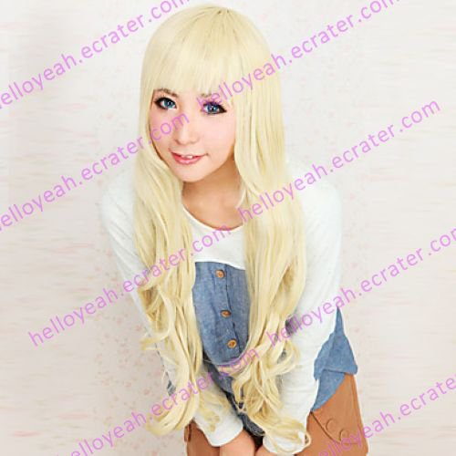 Cosplay Wig Inspired by K-ON! Tsumugi Kotobuki