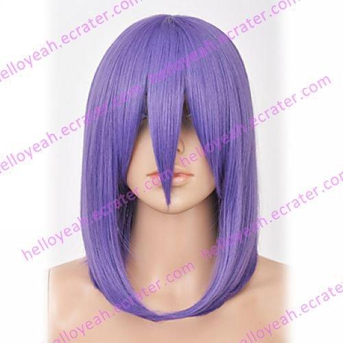 Cosplay Wig Inspired by Naruto Akatsuki Konan Purple