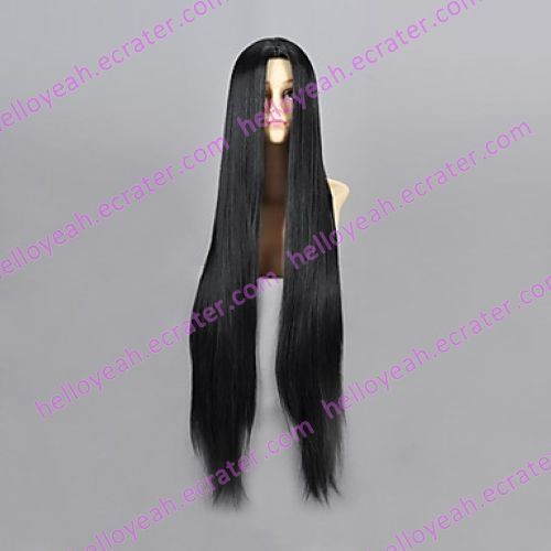 Cosplay Wig Inspired by Naruto Haku Ha Black VER.