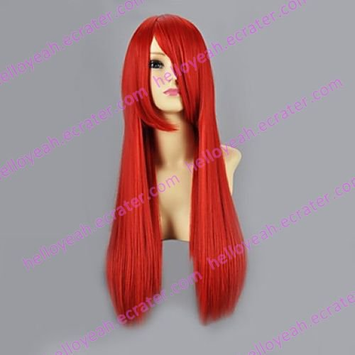 Cosplay Wig Inspired by Naruto Sarah Wine Red VER.