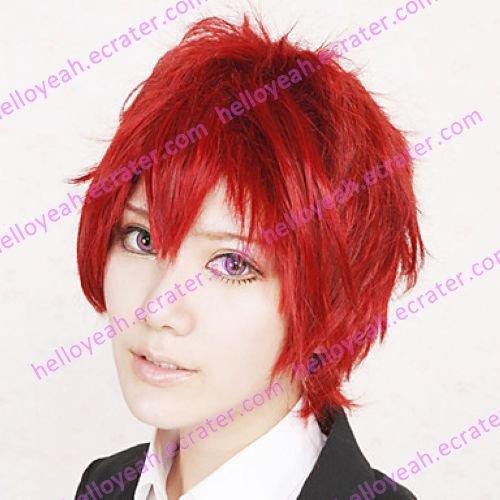 Cosplay Wig Inspired by Naruto Sasori Red