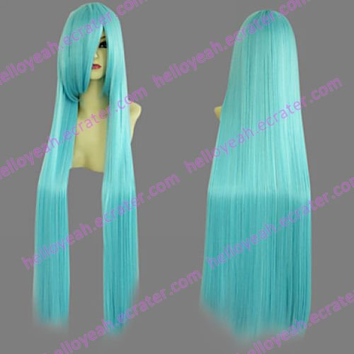 Cosplay Wig Inspired by One Piece Princess Nefeltari Vivi