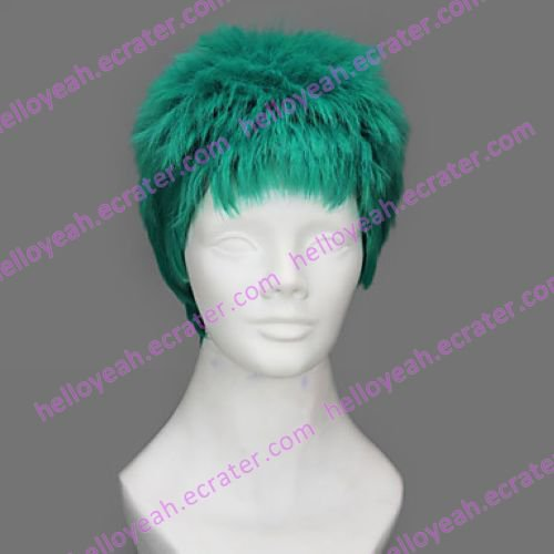 Cosplay Wig Inspired by One Piece Roronoa Zoro