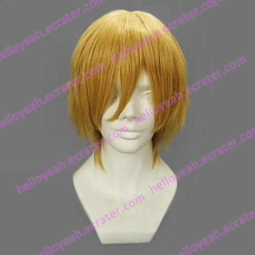 Cosplay Wig Inspired by One Piece Sanji