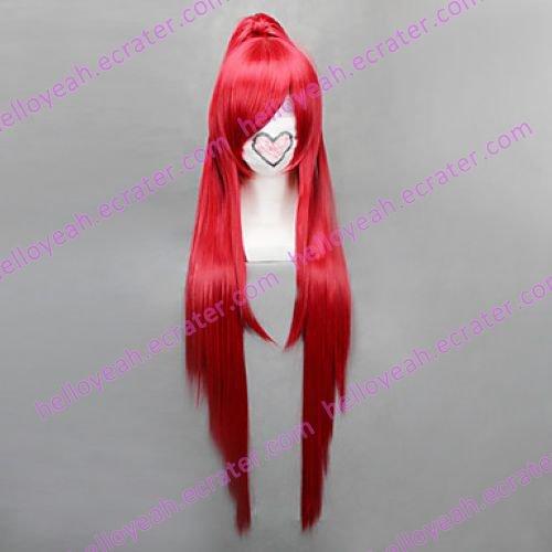 Cosplay Wig Inspired by Puella Magi Madoka Magica-Sakura Kyoko Temple Cut VER.