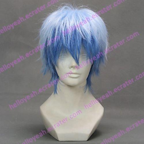 Cosplay Wig Inspired by The Basketball Which Kuroko Plays Kuroko Tetsuya Gradient Color
