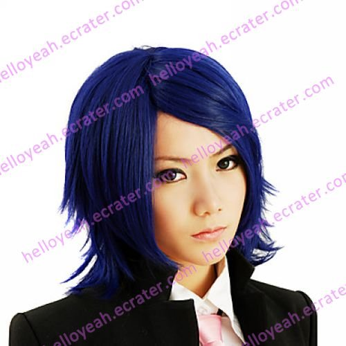 Cosplay Wig Inspired by The Prince of Tennis Yushi Oshitari