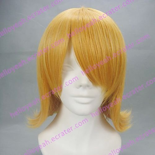 Cosplay Wig Inspired by Touhou Project Perfect Cherry Blossom Alice Margatroid