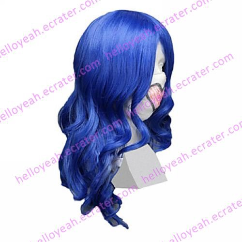 Cosplay Wig Inspired by Vocaloid Female VER. Kaito Blue