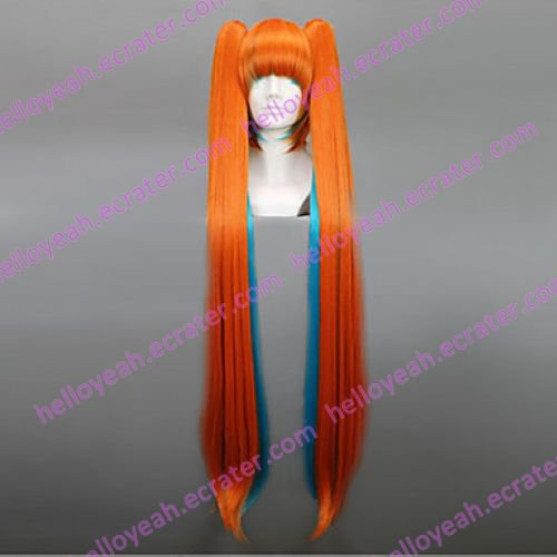 Cosplay Wig Inspired by Vocaloid-Halloween Miku