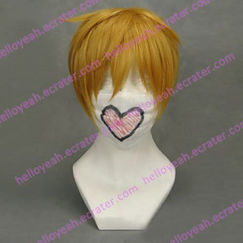 Cosplay Wig Inspired by Vocaloid-Kagamine Len
