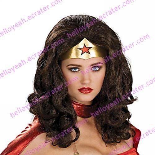 Halloween Wig Inspired by Black Wonder Woman