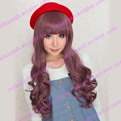 Lolita Wig Inspired by Brown Gradient Casual School