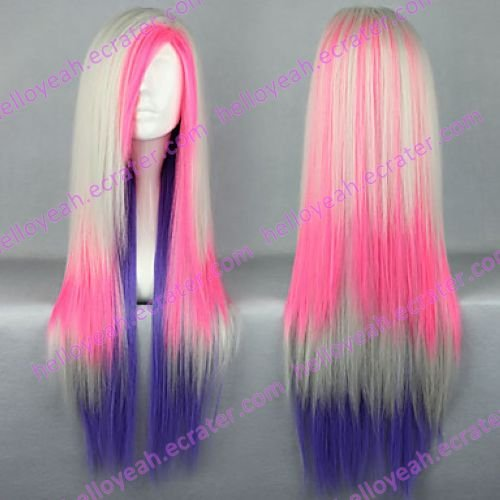 Lolita Wig Inspired by Charming Mixed Color Lolita Punk