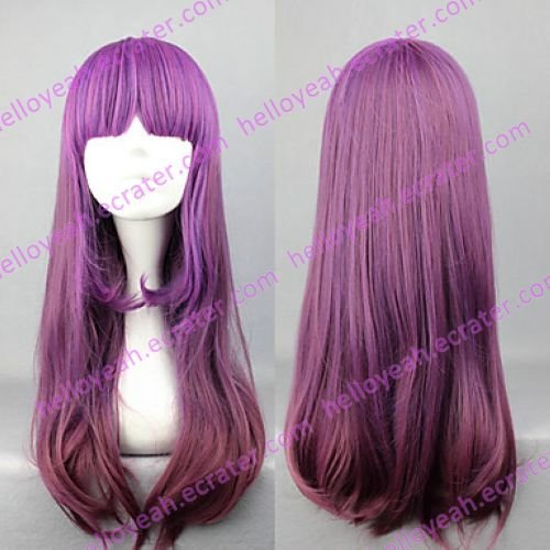 Lolita Wig Inspired by Elegant Gradient Purple 60cm Princess