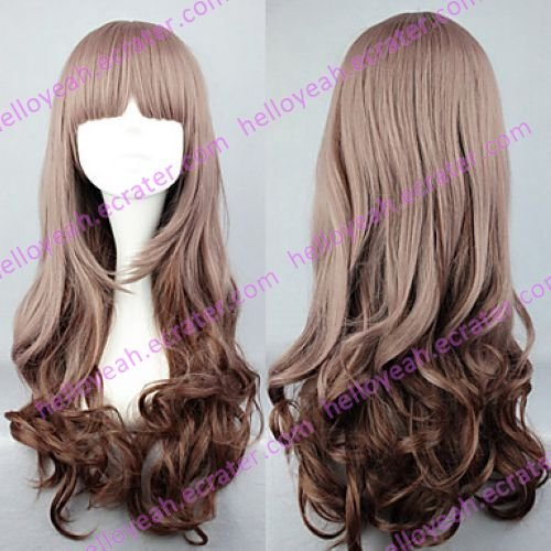 Lolita Wig Inspired by My Little Sweet Gradient Brown 60cm Casual
