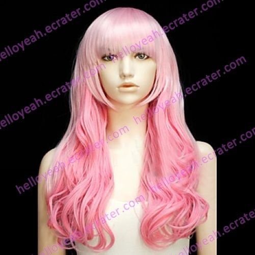 Lolita Wig Inspired by Sweet Girl Gradient Pink 60cm Sweet