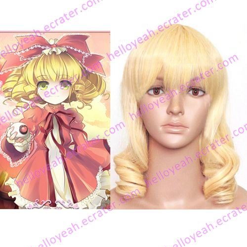 cosplay Hinaichigo curly wig from Rozen Maiden