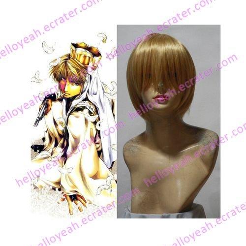 Saiyuki Genjyo Sanzo Cosplay wig