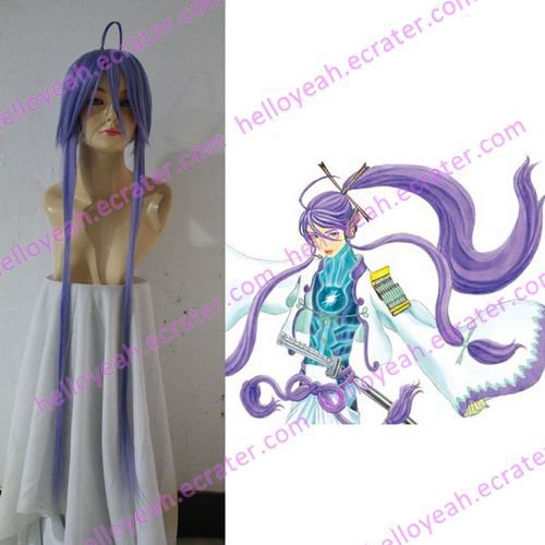 Cosplay wigs - hatsune miku 100cm  wigs blue from VOCALOID