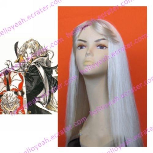 Castlevania Alucard bloned Cosplay Wig