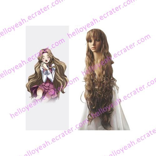 Code Geass Nunnally Vi Britainia Cosplay Wig