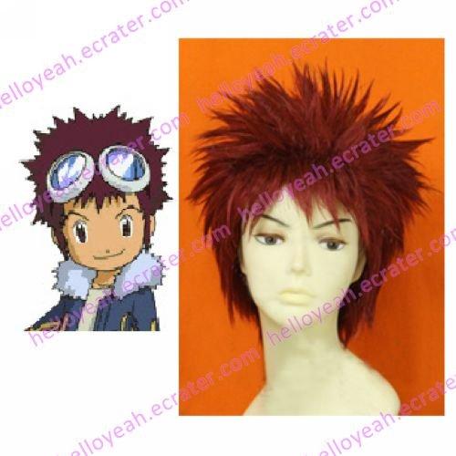 Digimon Daisuke Davis Motomiya Custom Made Cosplay Wig