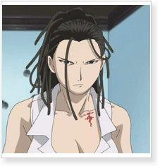Fullmetal Alchemist Izumi Curtis Cosplay Wig