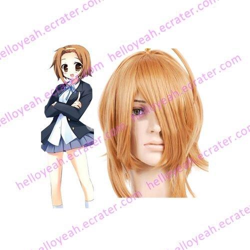 Golden 40cm K-ON!-Tainaka Ritsu Nylon Cosplay Wig