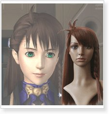 Xenosaga I Shion Uzuki Vector Cosplay Wig