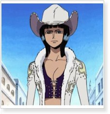 One Piece Nico Robin Cosplay Wig